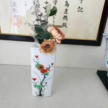 日本のお正月飾り生け花