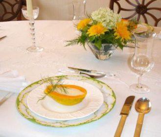 食事のテーブルマナースープスプーンで使いかた