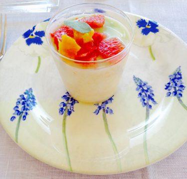 フランスのジアンケーキプレート