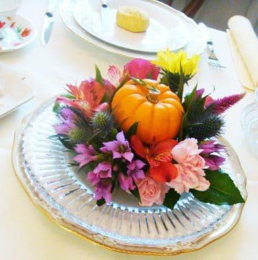 食空間インテリアテーブルコーディネートセンターピースのアレンジ