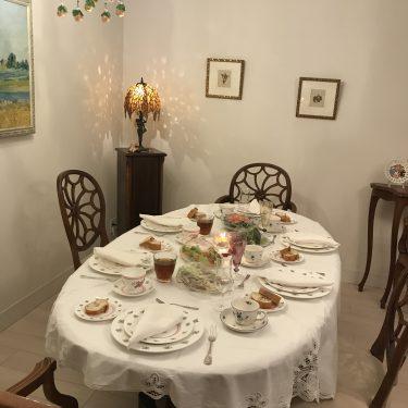 食空間インテリアテーブルコーディネート