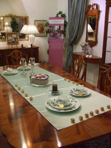 テーブルコーディネートバレンタイン