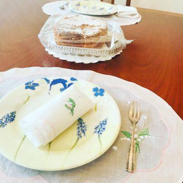 紅茶テーブルコーディネートリネンの選び方